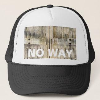 Bamboo gates trucker hat