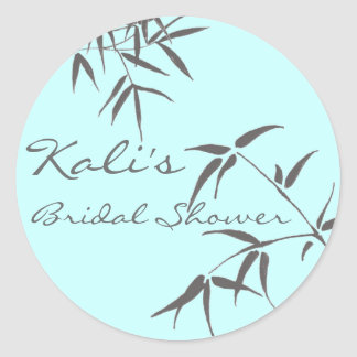Bamboo Leaf Bridal Stickers