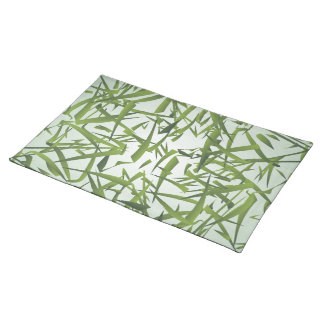 Bamboo Leaf Pattern Placemat
