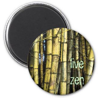 bamboo live zen magnet