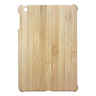Bamboo-Look Cover For The iPad Mini