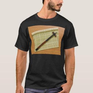 Bamboo mat with chopsticks T-Shirt
