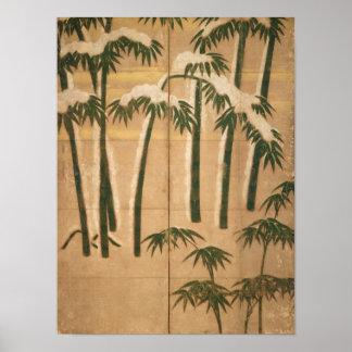 Bamboo, Momoyama Period Poster