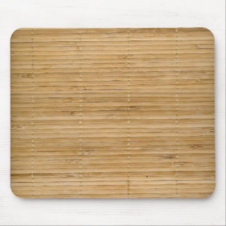 Bamboo mouse pad