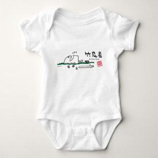 bamboo ninja baby bodysuit