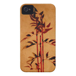 Bamboo on Parchment iPhone 4 Case