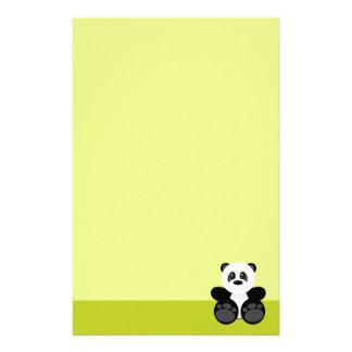 Bamboo Panda Bear Customised Stationery