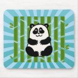 Bamboo Panda Mouse Pad