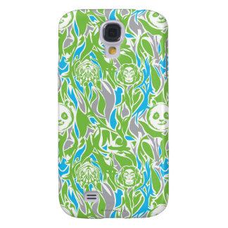 Bamboo Po Pattern Galaxy S4 Case