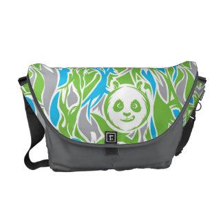 Bamboo Po Pattern Messenger Bag