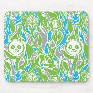 Bamboo Po Pattern Mouse Mat