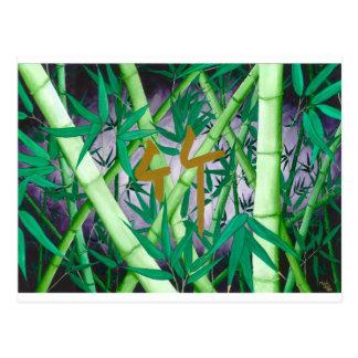 Bamboo Postcards