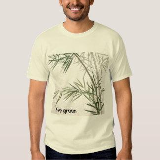 Bamboo_small, live green shirt