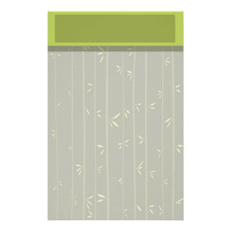 Bamboo Stationery with Letterhead