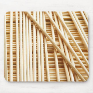Bamboo sticks mouse mat