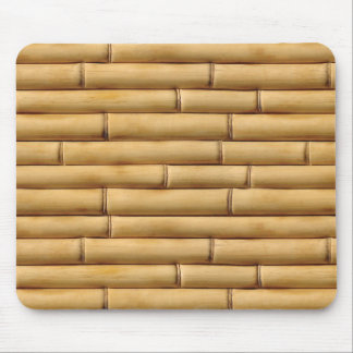 Bamboo Texture Background Mouse Mat
