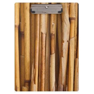 Bamboo Texture Clipboard
