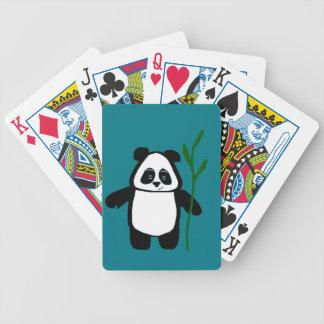 Bamboo the Panda Playing Cards