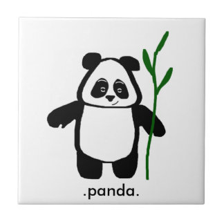 Bamboo the Panda Tile