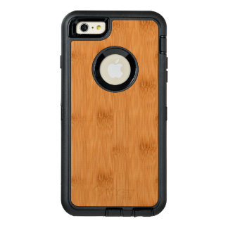 Bamboo Toast Wood Grain Look OtterBox iPhone 6/6s Plus Case