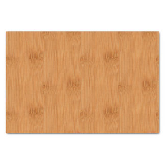 Bamboo Toast Wood Grain Look Tissue Paper