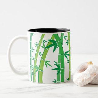 Bamboo Two-Tone Coffee Mug