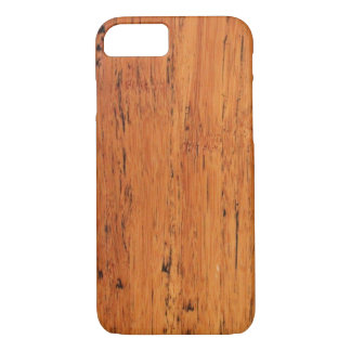 Bamboo Wood Scraped iPhone 7, Barely There iPhone 7 Case