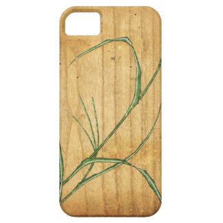 Bamboo Woodblock iPhone 5 Cases