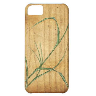 Bamboo Woodblock iPhone 5C Covers
