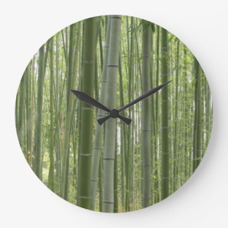 Bamboo Woods Large Clock