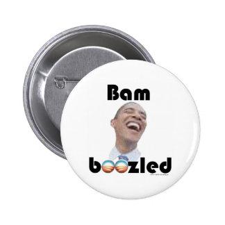 Bamboozled by Obama 6 Cm Round Badge