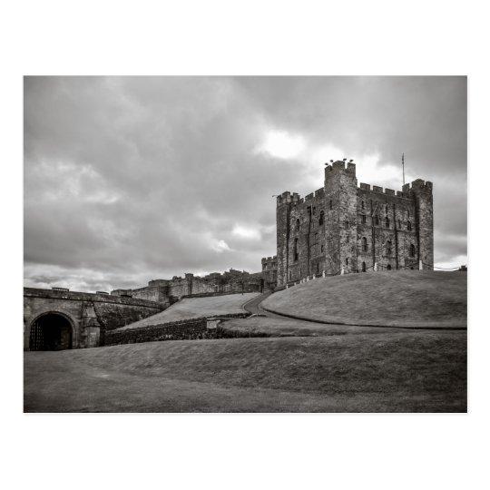 Bamburgh Castle England Postcard