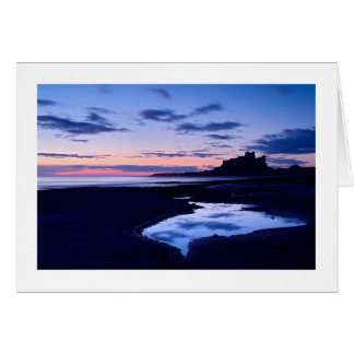 Bamburgh Castle, Northumberland Greeting Card