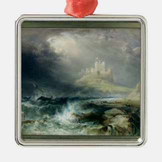 Bamburgh Castle, Northumberland Christmas Ornament