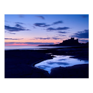 Bamburgh Castle, Northumberland post card