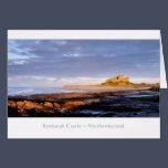 Bamburgh Castle panorama, Northumberland