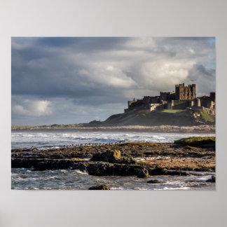 Bamburgh Castle Poster/Print Poster