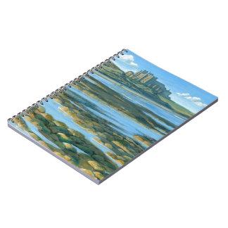 Bamburgh Castle Spiral Notebook