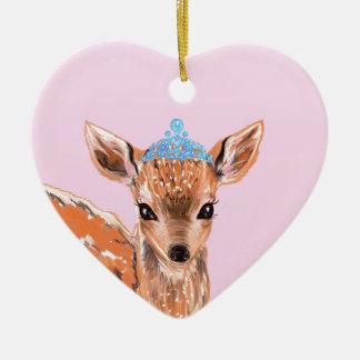 bamby. ceramic heart decoration