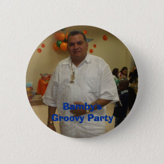 Bamby's Groovy Party 6 Cm Round Badge