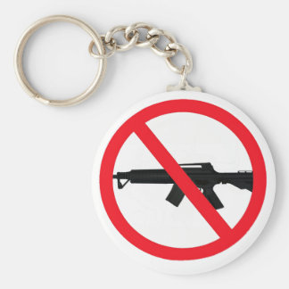 Ban Assault Weapons Keychain