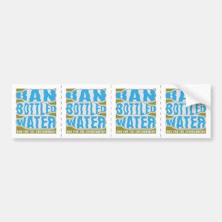 Ban Bottled Water Bumper Sticker