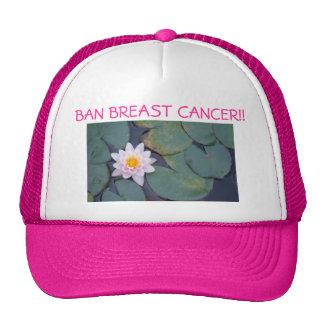 BAN BREAST CANCER!! HAT