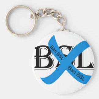 Ban BSL keychain
