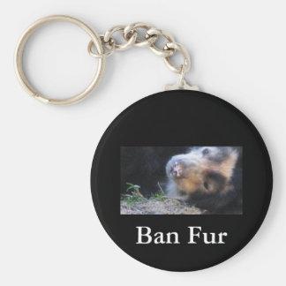 Ban Fur Keychains