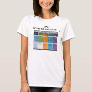 Ban Geoengineering T-Shirt