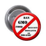 Ban GMO Button