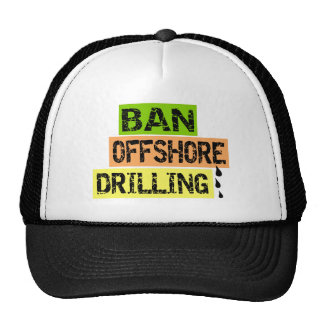 BAN OFFSHORE DRILLING MESH HATS