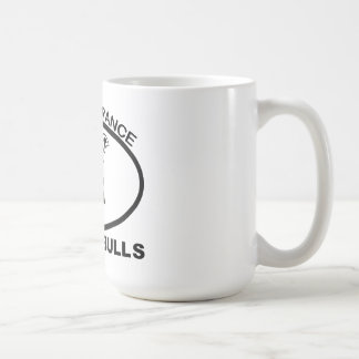 BAN PITBULL IGNORANCE NOT PITBULL COFFEE MUG