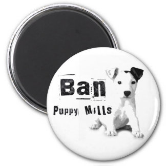 Ban Puppy Mills Animal Rights Magnet